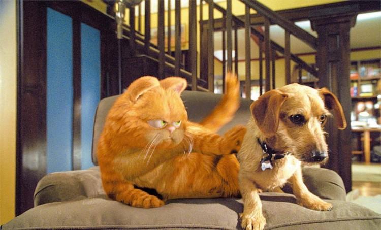 Cena de 'Garfield - O Filme' ((Divulgação)