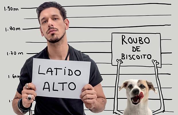 Celebridades e cães são tema de exposição organizada pela Ampara no Shopping Frei Caneca, em São Paulo