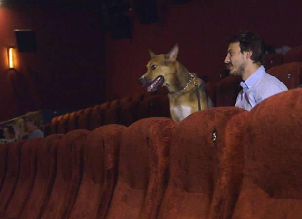 Cinema permite entrada de cães em Londres; clique e assista a video da BBC