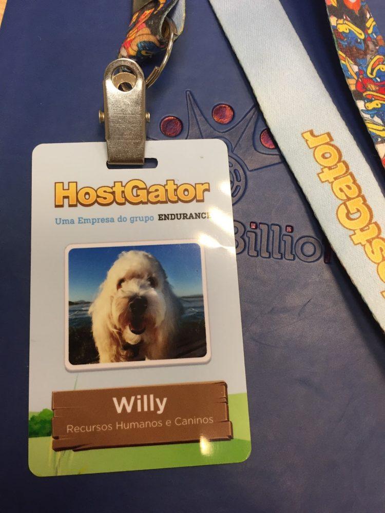 Willy tem crachá em empresa
